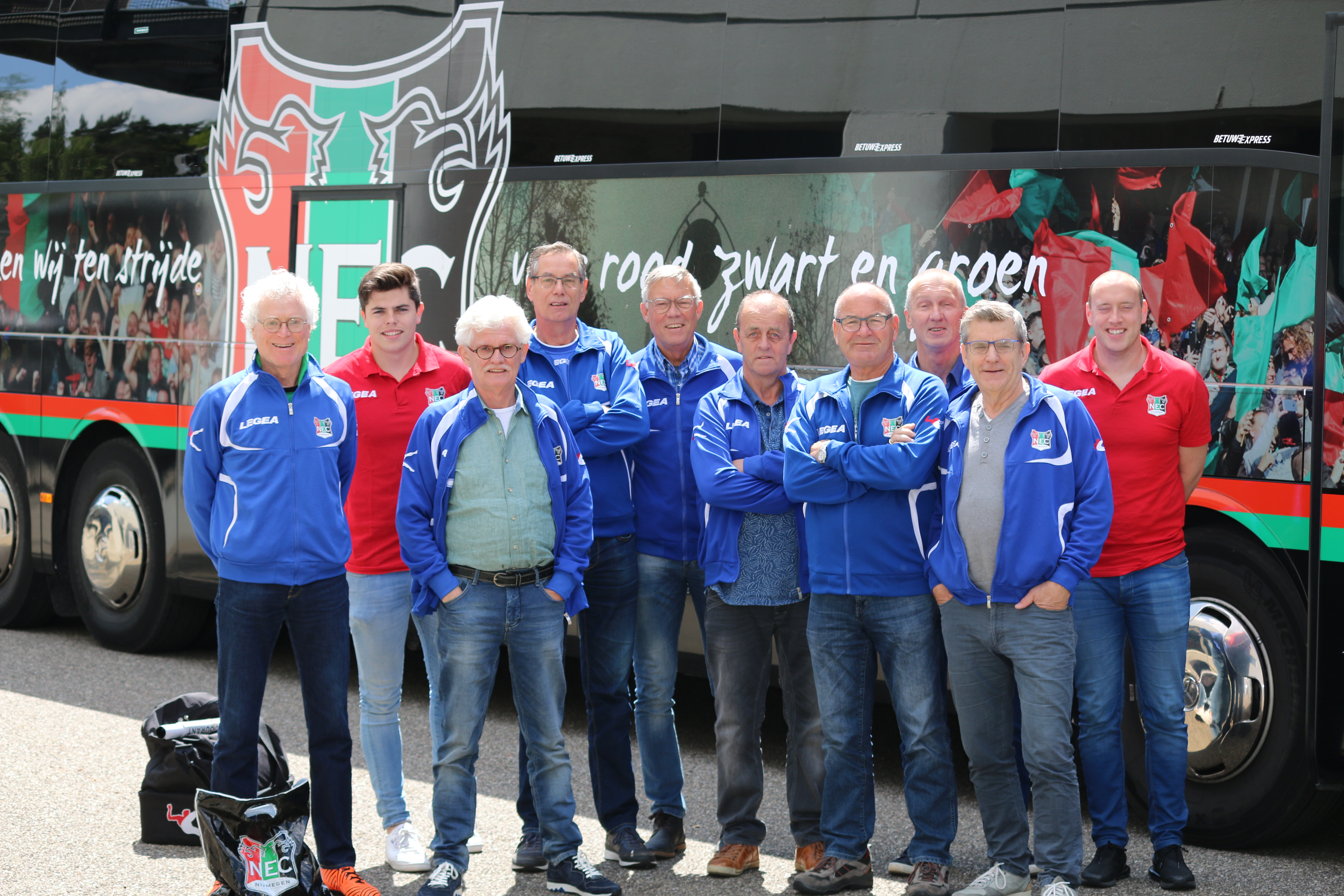 N.E.C. Oldstars naar Eindhoven voor Walking Football League