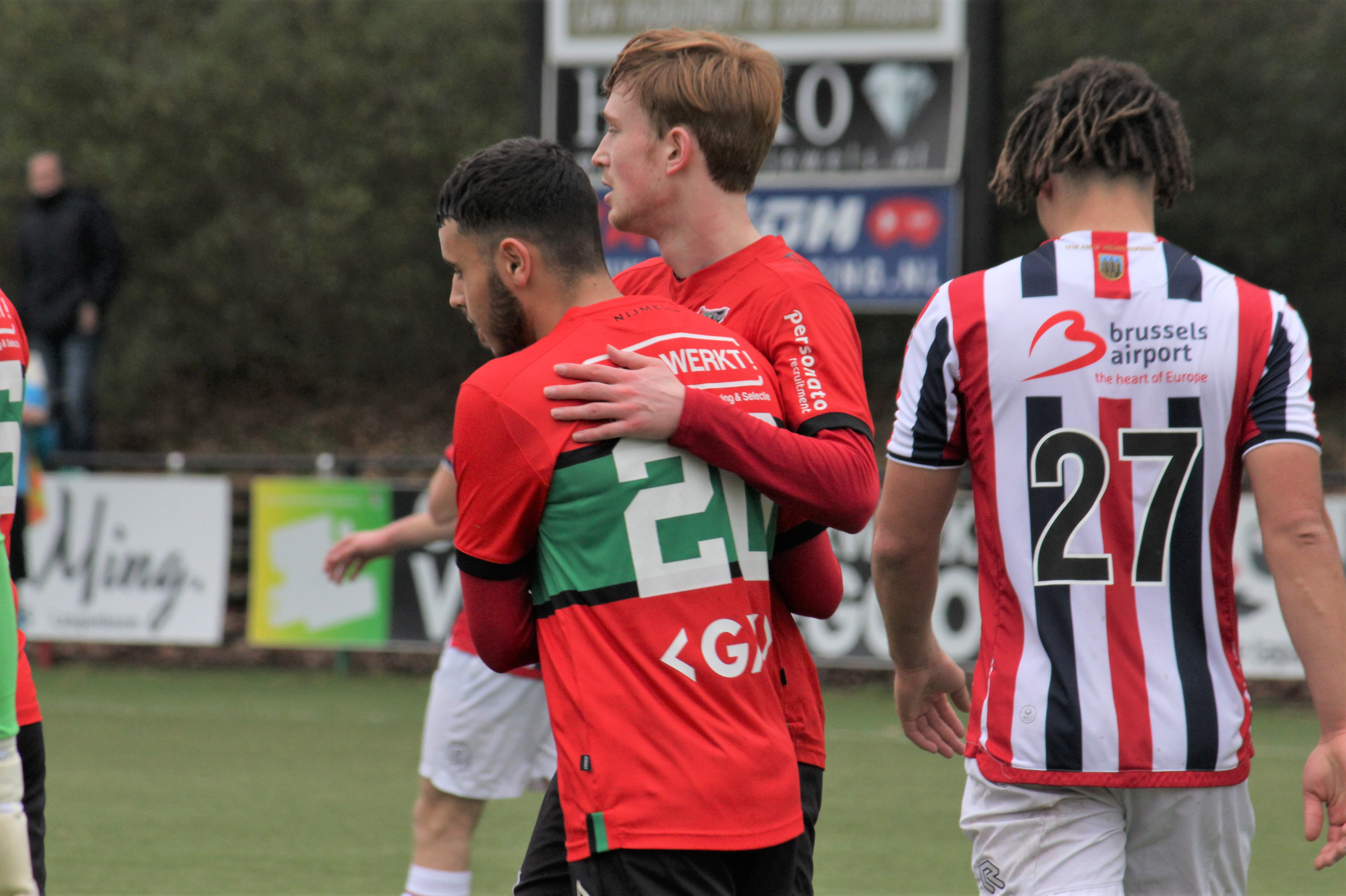 Valse start voor Jong N.E.C.