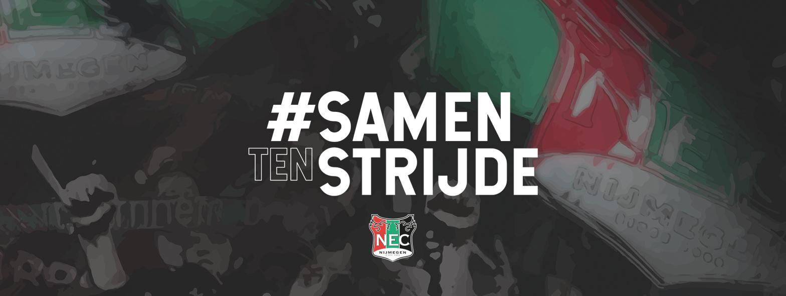 N.E.C. lanceert platform #SamenTenStrijde