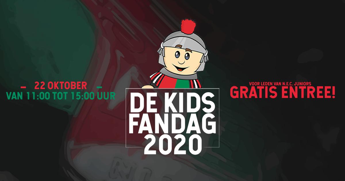 GEANNULEERD - Meld je nu aan voor de Kidsfandag in de herfstvakantie!